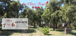 camping chênes rouges offre nature nuit offerte argeles camping chênes rouges