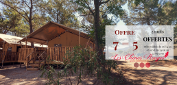 camping argeles glamping nature chênes rouges